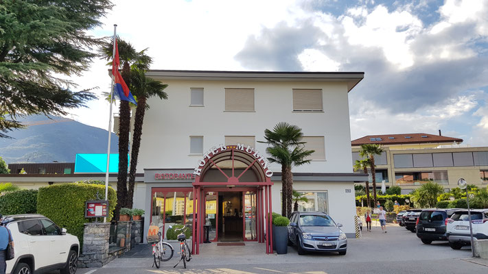 "Unser Hotel ""Mulino"" in Ascona"