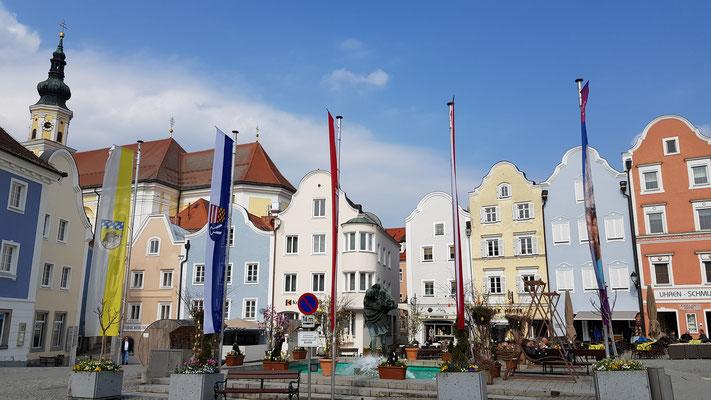 Bürgerhäuser aud dem 16. bis 19. Jahrhundert