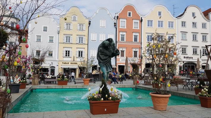 Brunnen am Stadtplatz