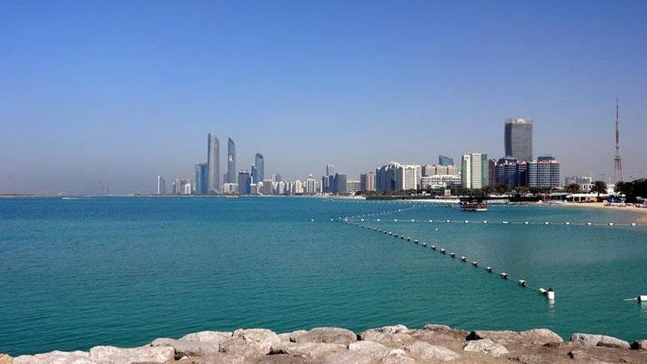 Sicht auf Corniche