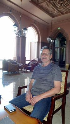 Kaffeepause im Grand Palace Hotel