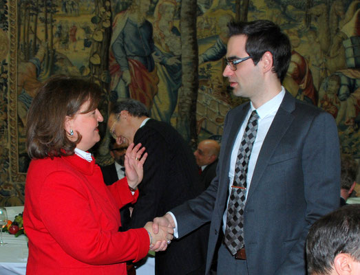Zwei heimliche Weltmarktführer, Petra Baader, Baader Group, und Andrè Arash Mofid, Big Dutchman International.