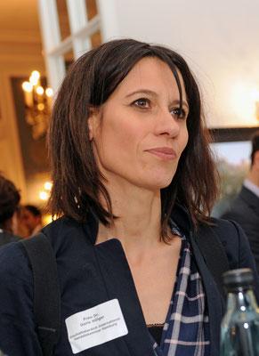 Unter den Gästen: Dr. Doris Hillger vom Geschäftsbereich International der Handelskammer Hamburg mit Schwerpunkt Zentralasien
