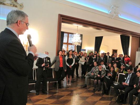 Premiere für Nowruz-Grüße aus dem Weißen Haus – verlesen von David Zeller, Präsident des American Club of Hamburg e.V: