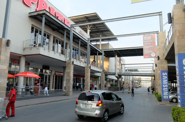 Shoppingmall in Lusaka