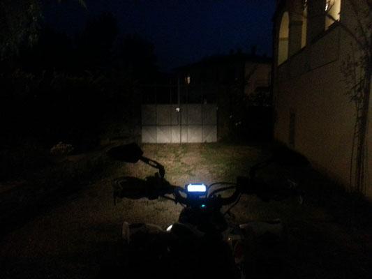 SUZUKI QUAD monta due barra LED mod. CF6x3 - Profondità - FARI SPENTI