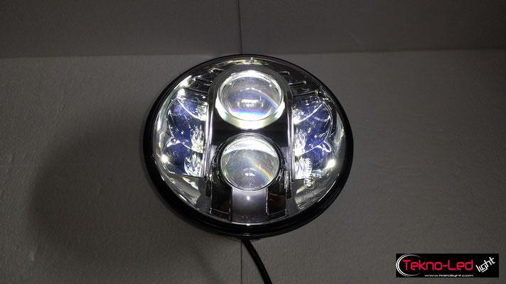 FARO COMPLETO A LED - (4450LUMEN)   Mod. TKL FAR-80S-WHITE - Abbagliante