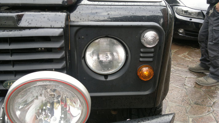 DEFENDER 90 - Prima del Light Tuning