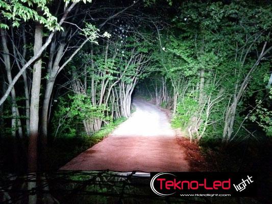 SUZUKI Samurai monta 1 barre LED mod. CR10X10 Profondità