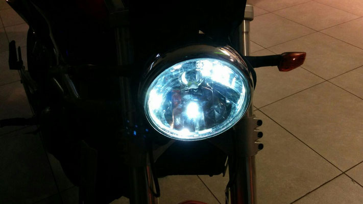 MOTO MORINI 1200  9.1/2 monta Kit Led Moto TKLM3-H4/H6/H7 + posizione LED TKLT10-9