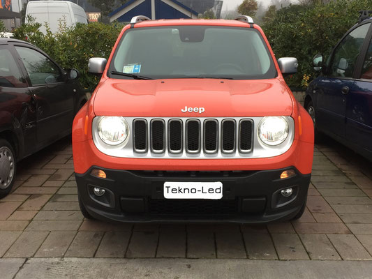 JEEP Renegade monta un kit LED Auto mod. TKL9-H4-Canbus - UPDATE + Canceller H4