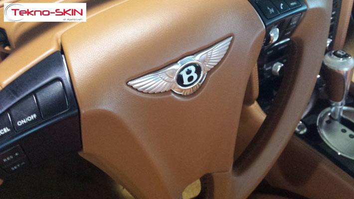 OTTOBRE 2016 - Tekno-Skin con Bentley GT Cabrio