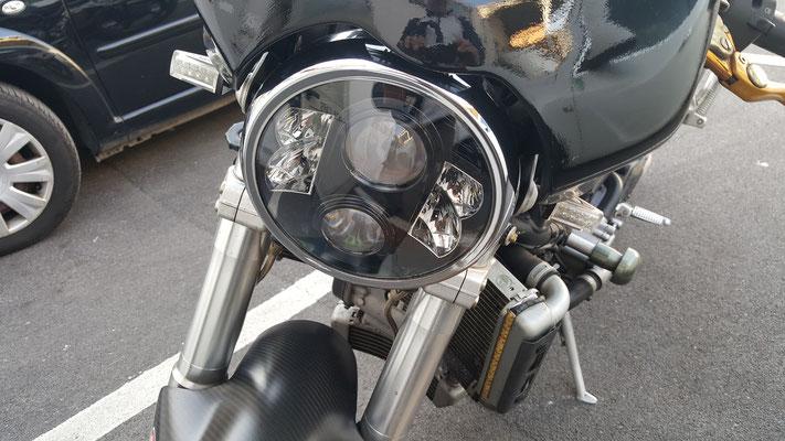 DUCATI MONSTER MONTA FARO FULL LED Mod. TKLFAR-80-BLACK