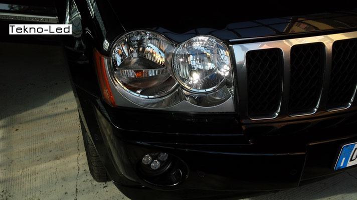 JEEP Cherokee monta un kit LED Auto mod. TKL9-H7-Canbus - UPDATE + Posizioni TKLT10-25 + Fendinebbia FAR 45-40