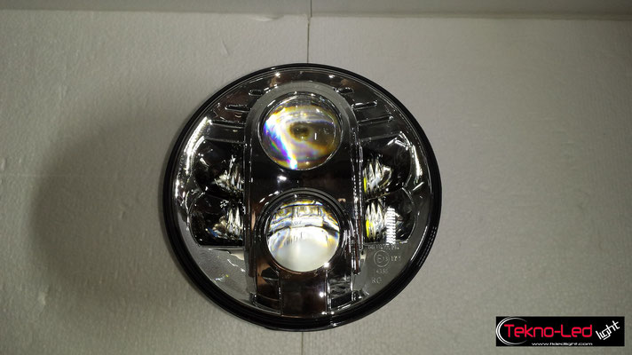 FARO COMPLETO A LED - (4450LUMEN)   Mod. TKL FAR-80S-WHITE