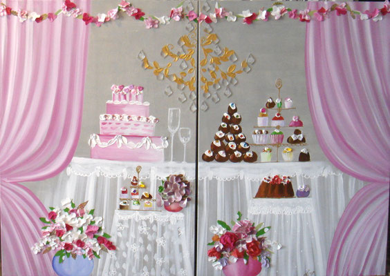 Banquet 2x90x90