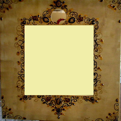 Gold Miroir 80x80