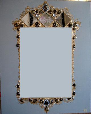 Grisé miroir 100x80