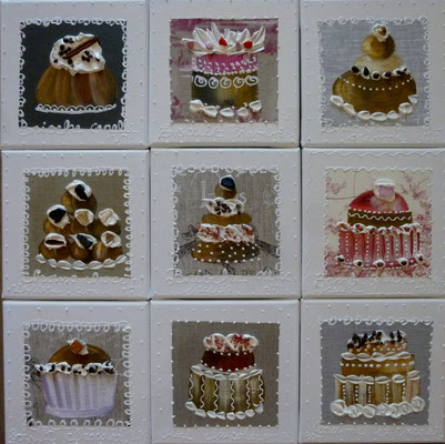 New cakes beiges 9x20x20