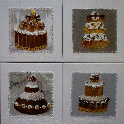 New cakes 4x30x30