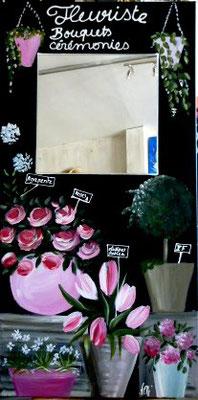 Boutique de fleur 100x50