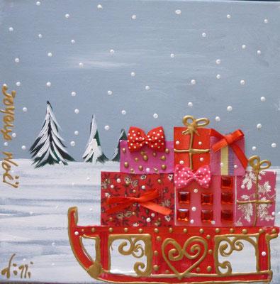 Neige à Noel détail
