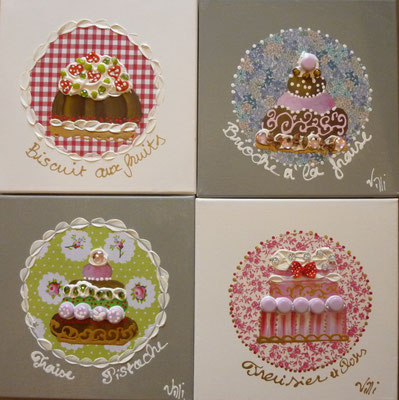 Cakes liberty 4x30x30