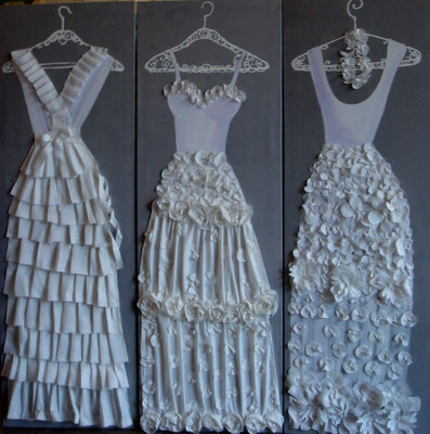 Robes blanches 2014 3x150x50