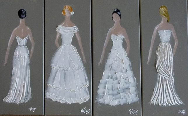 Mariées blanche 4x20x50