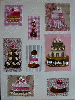 New cakes roses 80x60