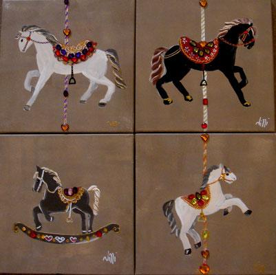 Litle horses 4x30x30