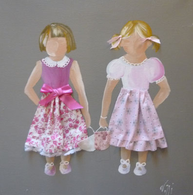 Enfants lin detail