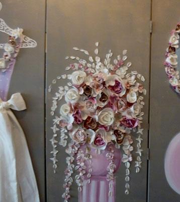 Mariage de rêve rose detail
