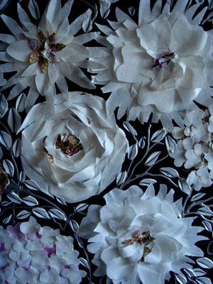 Nouveau bouquet detail