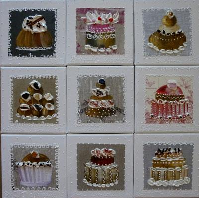 New cakes 9x20x20