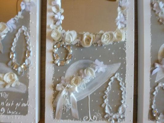 Mariage blanc détail