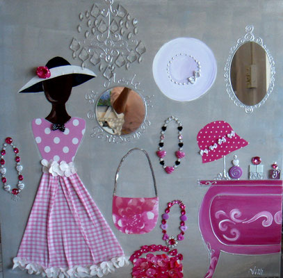 Conchita pink 80x80