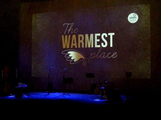 The warmest place. Julio García y Carmen Ros. Concierto