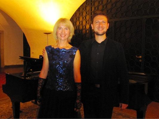 Vera Klimova, Sopran  -  Wladimir Borodin, Klavier