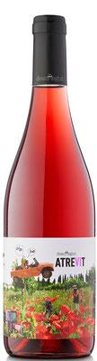 rose wine atrevit organic penedes