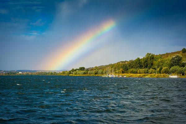 Süßer See mit Regenbogen - Seeburg