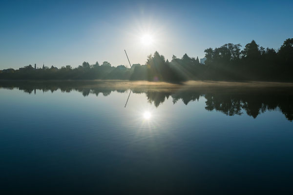 Sonnenaufgang am Heidesee