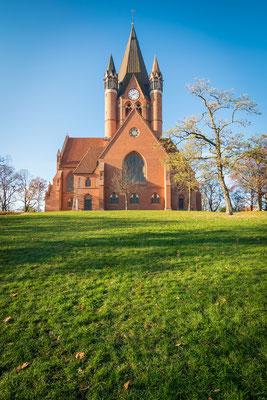 Pauluskirche im Frühling