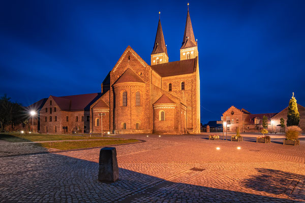 Kloster in Jerichow am Abend