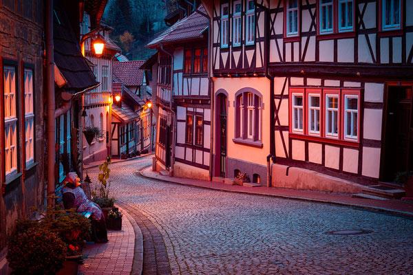 Fachwerkjäuser in Stolberg (Harz)