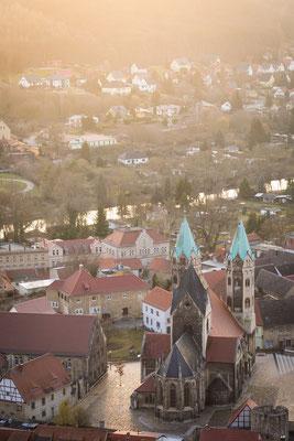 Freyburg (Unstrut) mit Marienkirche