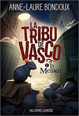 La tribu de Vasco, Gallimard jeunesse 2018