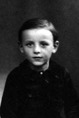 Mon père, vers l'âge de six ans