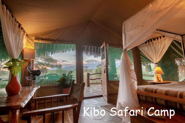 Kenia Nationalparks Lodges Kibo Safari Camp