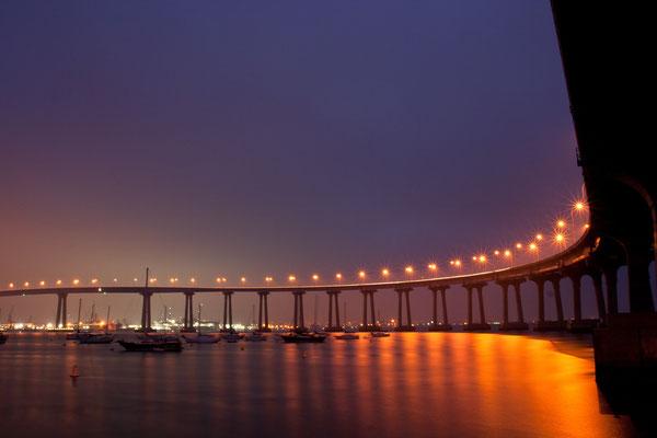 San Diego Urlaub: Coronado Bay Bridge